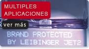 APLICACIONES DE CODIFICADORES INKJET LEIBINGER